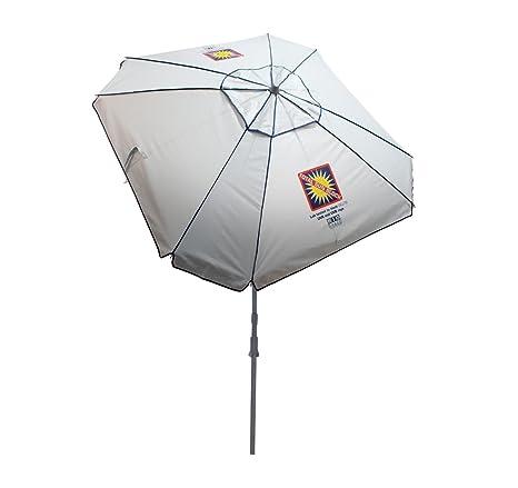 8be07c7185f7a Amazon.com: Rio Brands Beach Total Sun Block Umbrella with Sand Anchor,  7-Feet: Sports & Outdoors