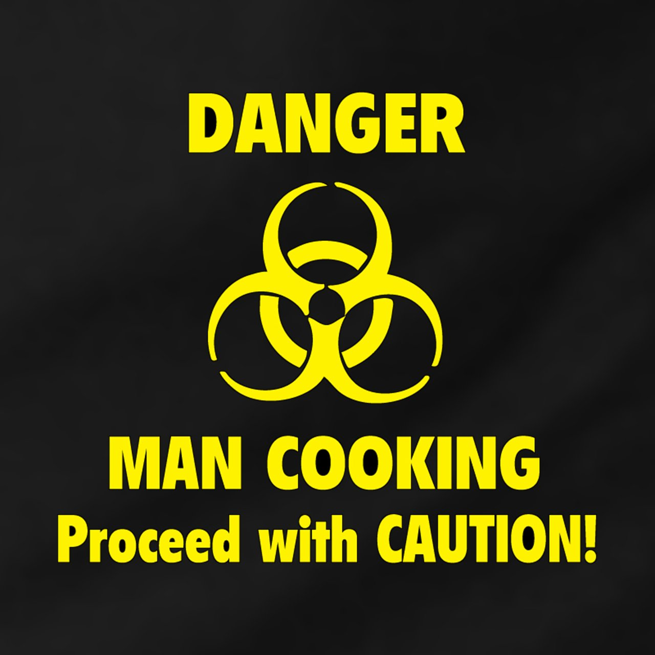 Danger Man Cooking Apron and Chef's Hat Set Gift House International GH-AP10007