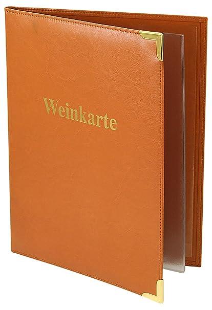 Artículos de Cuero Friedrich 40180-3 menús, Carta de vinos ...