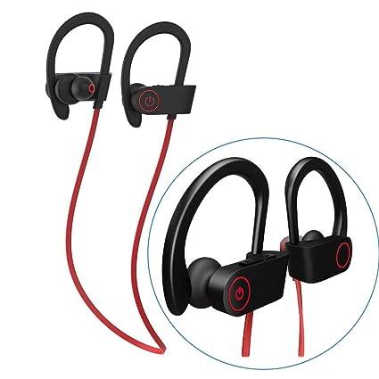 Auriculares Bluetooth Cuerda de Saltar, 110 mAh Batería de 8 Hrs Sweatproof Cascos Inalámbricos -