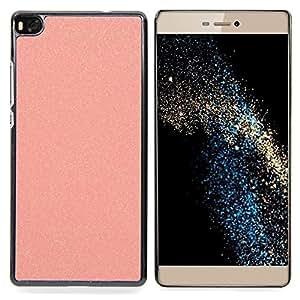 - glitter peach plastic sandpaper pink - - Modelo de la piel protectora de la cubierta del caso FOR HUAWEI P8 RetroCandy