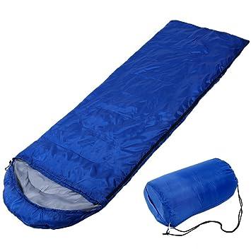 Portátil Saco de dormir con sombrero, sobre sacos de dormir con bolsa de transporte,