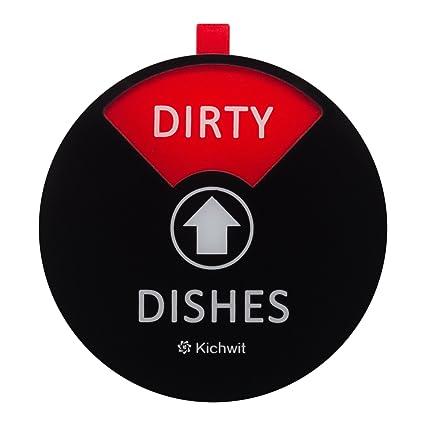 Amazon Kichwit Dishwasher Magnet Clean Dirty Dishwasher Sign