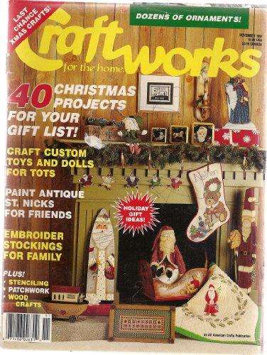 Magazine Craftworks - Craftworks for the Home Magazine November 1991