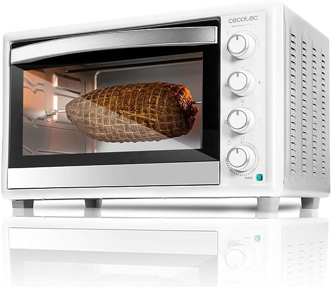 Cecotec Bake&Toast 750 Gyro - Horno Conveccion Sobremesa, 2000 W ...
