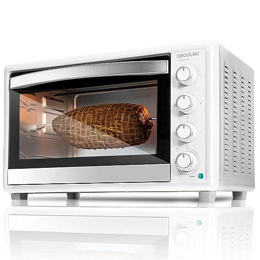 Cecotec Horno Conveccion Sobremesa Bake&Toast 790. Capacidad de 46 litros, 2000 W, 12 Modos, Temperatura hasta 230ºC y Tiempo hasta 60 Minutos, ...