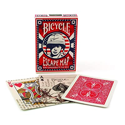Bicycle Escape Map Playing Cards: Toys & Games