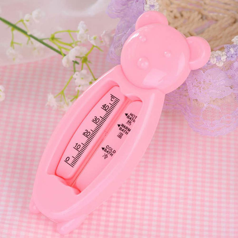 Qmcmc Belle Ours portatif de Bain de bébé thermomètre Baignoire et thermomètre de Piscine