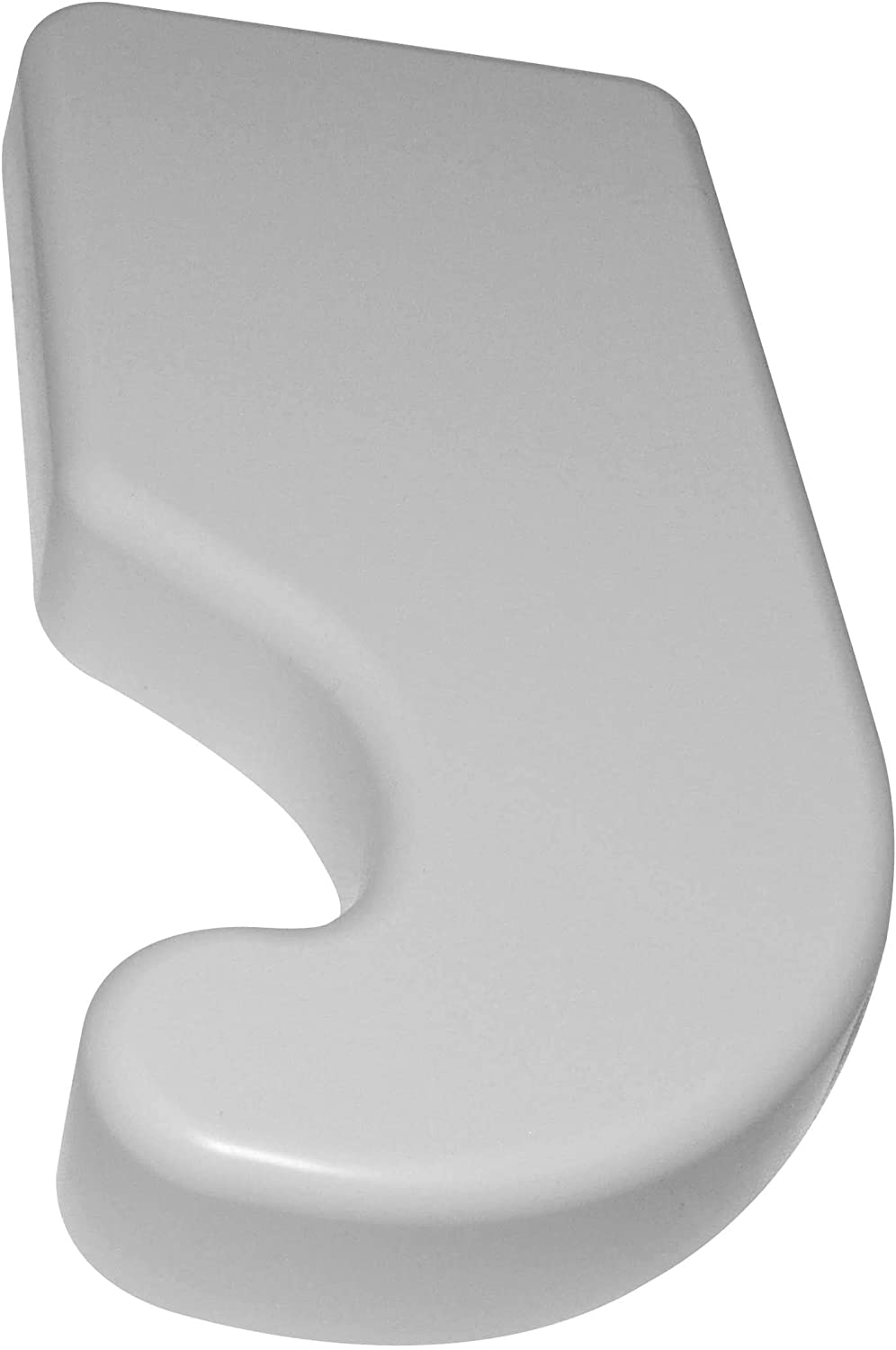 Whirlpool W10331654A Refrigerator Left Hinge Cover, White
