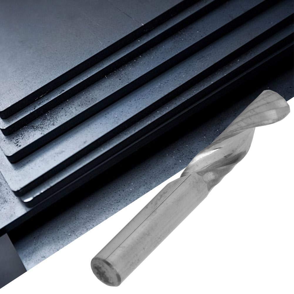 6 * 6 * 22 * 50 6mm Schaft Single Flute Fr/äser CNC Spiralfr/äser Gravur Fr/äser f/ür Acryl-Span Entfernung Kantenschneiden