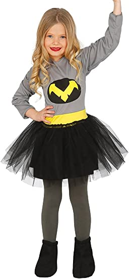Guirca- Disfraz niña murciélago, Talla 3-4 años (83216.0): Guirca ...