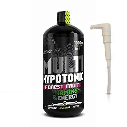 Biotech USA Multi Hypotonic Drink Concentrate 1:65 Endurance Sabor Frutas del Bosque - 1000