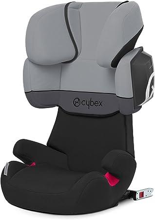 Oferta amazon: Cybex Silver Solution X2-Fix - Silla de coche con y sin Isofix, Grupo 2/3 (15-36 kg), Desde los 3 hasta los 12 años aprox., Cobblestone (light grey)