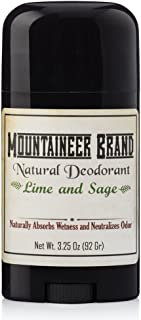 product image for Mountaineer Brand All Natural Deodorant Stick by Mountaineer Brand | Stay Fresh With Safer Ingredients | 3.25 oz (Timber Scent)