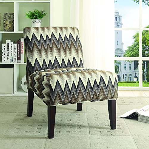 Coaster Furniture 902564 Gradient Chevron Accent Chair, N...