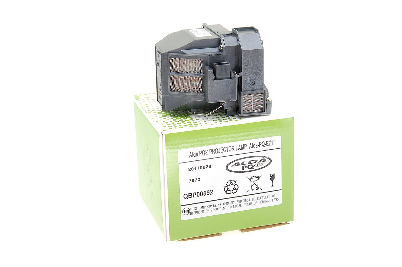 Alda PQ-Premium EB-470 EB-475W EB-1400WI BRIGHTLINK 480I EB-475WI Projektoren EB-1410WI Beamerlampe // Ersatzlampe f/ür EPSON BRIGHTLINK 475WI BRIGHTLINK 485WI Lampe mit Geh/äuse