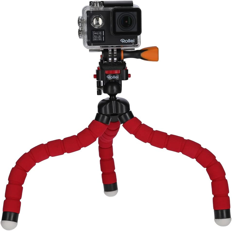 Rollei Monkey Pod Biegsames Mini Stativ Mit Flexiblen Kamera