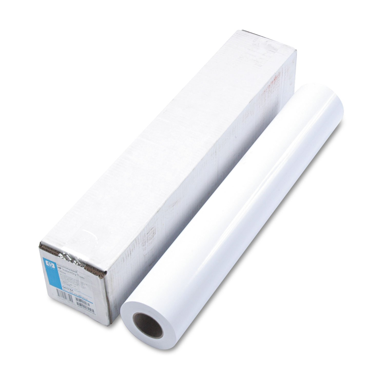 HP Q6574A Universal Instant-Dry Photo Paper, Gloss, 24-Inch x100-Ft, White by HP