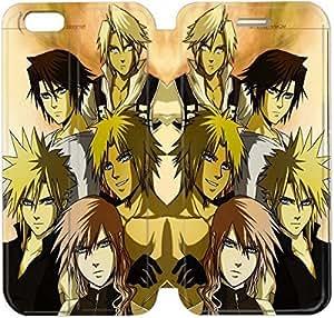 iPhone 6 6S Plus 5,5 pulgadas funda DHPFGJOIY4885 Flip funda y Stand por iPhone 6 6S Plus 5.5 pulgadas - Crisis Core Final Fantasy VII