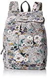 O'Neill Women's Starboard Floral Print Drawcord Backpack Accessory, black/black, ONE