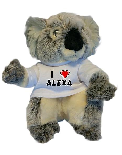 Amo Alexa En Personalizada De PeluchejugueteCon La Koala byv6Yf7g