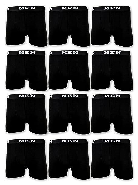 Calzoncillos de algodón para Hombre, Retro, de Sockenkauf24 10 Stück | Schwarz XX-Large : Amazon.es: Ropa y accesorios