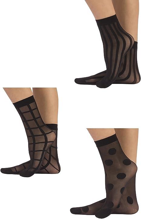 8 Pairs Boys Geometric Figures Stocking Youth Pattern Knee High Cotton Socks