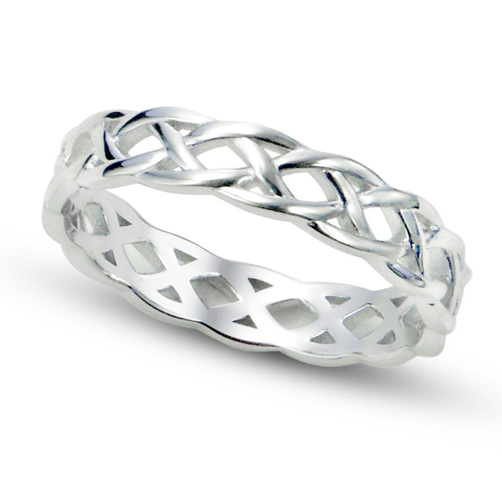 Amazon.com: Metal Factory - Anillo de plata esterlina 925 ...
