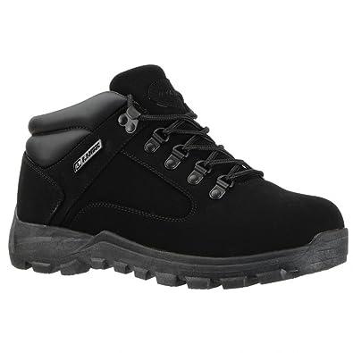Lugz Mens Lumber SR Ankle Black Hiking Boot