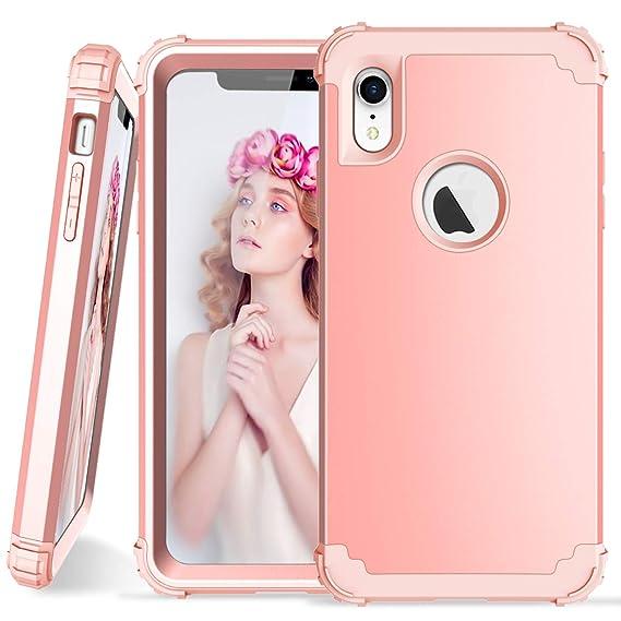 promo code ca632 03320 Amazon.com: iPhone XR Case, iPhone XR Case for Girl Women Heavy Duty ...