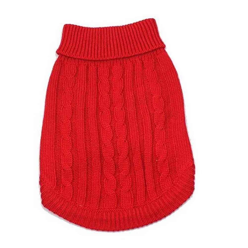 Samgu Veste Pull-Over en Tricot Chaud pour Chien en Tricot Animal de Compagnie