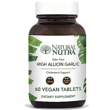 Amazon Com Natural Nutra High Allicin Garlic Supplement Garlic