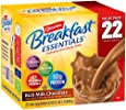 Carnation Breakfast Essentials Powder Drink Mix, Rich Milk Chocolate, Box of 22 Packets