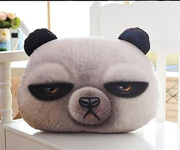 KBSN 3D Desarrollo, cojín de la cabeza, gato, cabeza de perro, almohada
