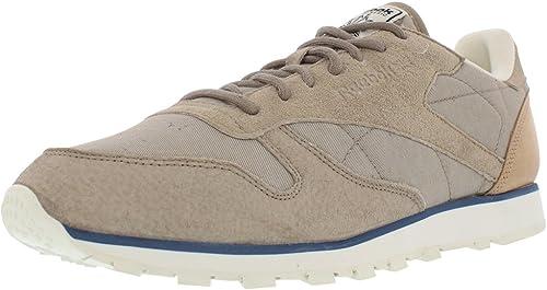 Reebok sapato masculino clássico de couro Sm casual: Amazon