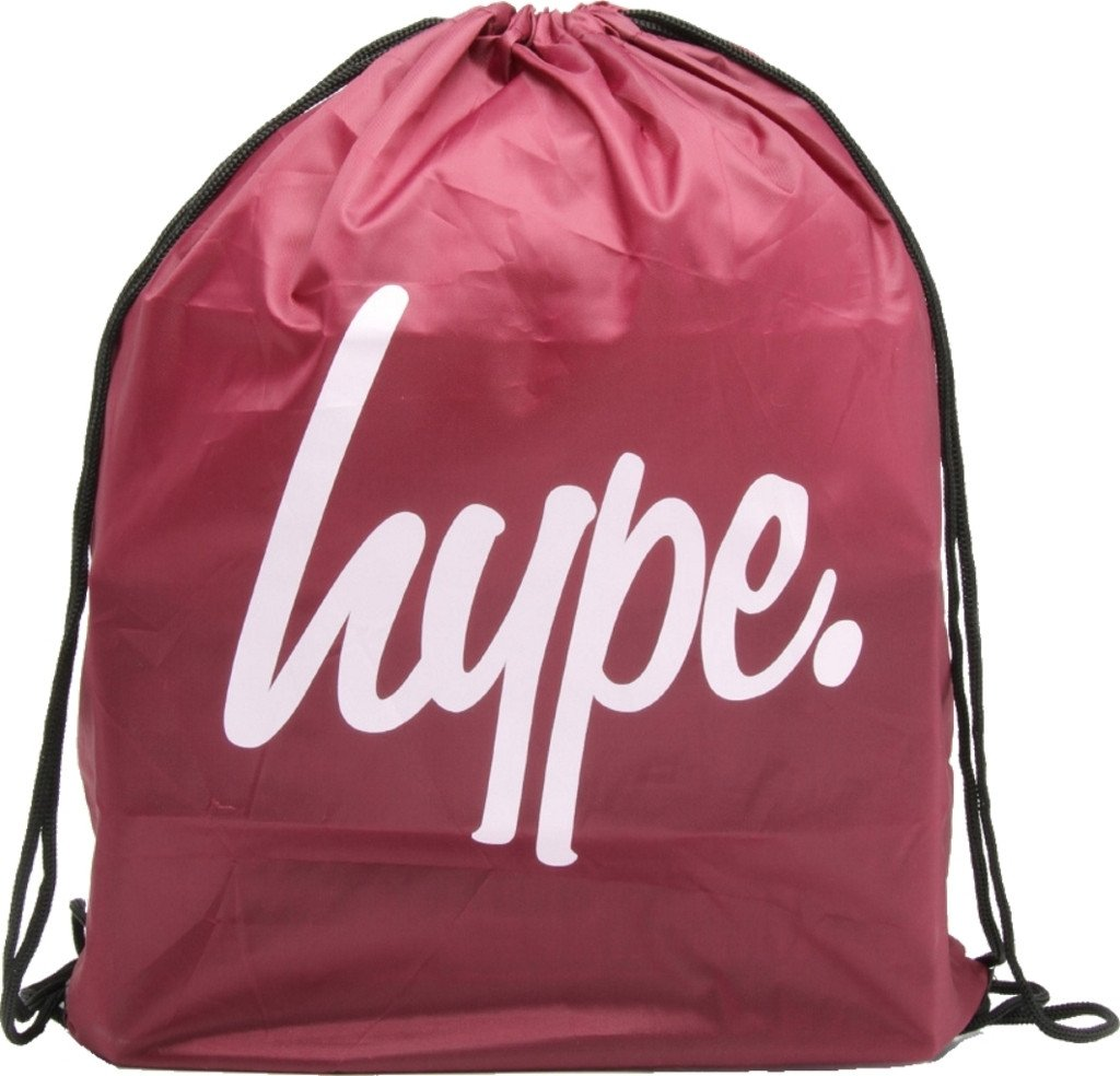 Hype Drawstring Gym Bag - Various Colours Hype Drawstring Gym Bag Black