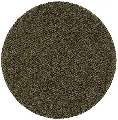 Oriental Weavers Sphinx 748679248414 Loft 8 ft. Casual Round Area Rug - Green and Brown