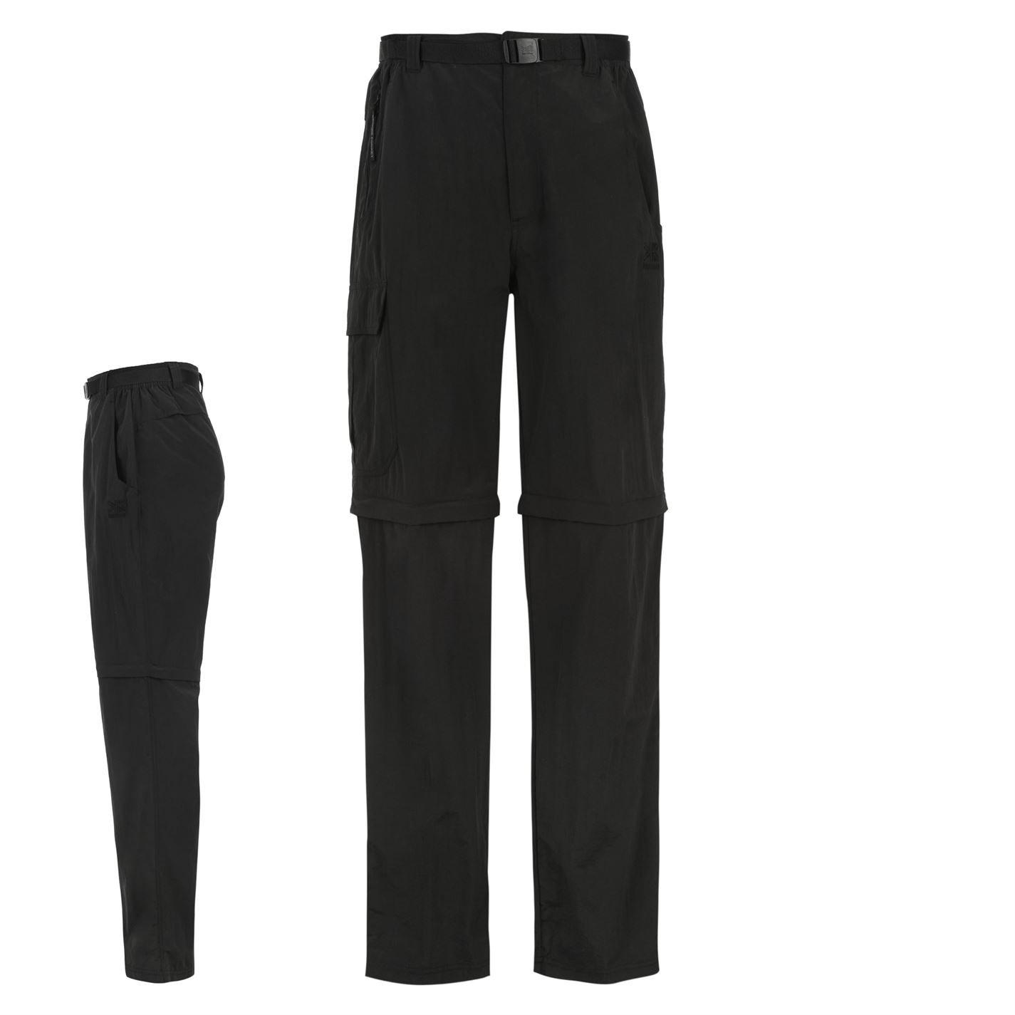 Karrimor Aspen Convertible Trousers Junior Black 13 Yrs