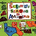 The Scrambled States of America Audiobook by Laurie Keller Narrated by Lorelei King, Oliver Wyman