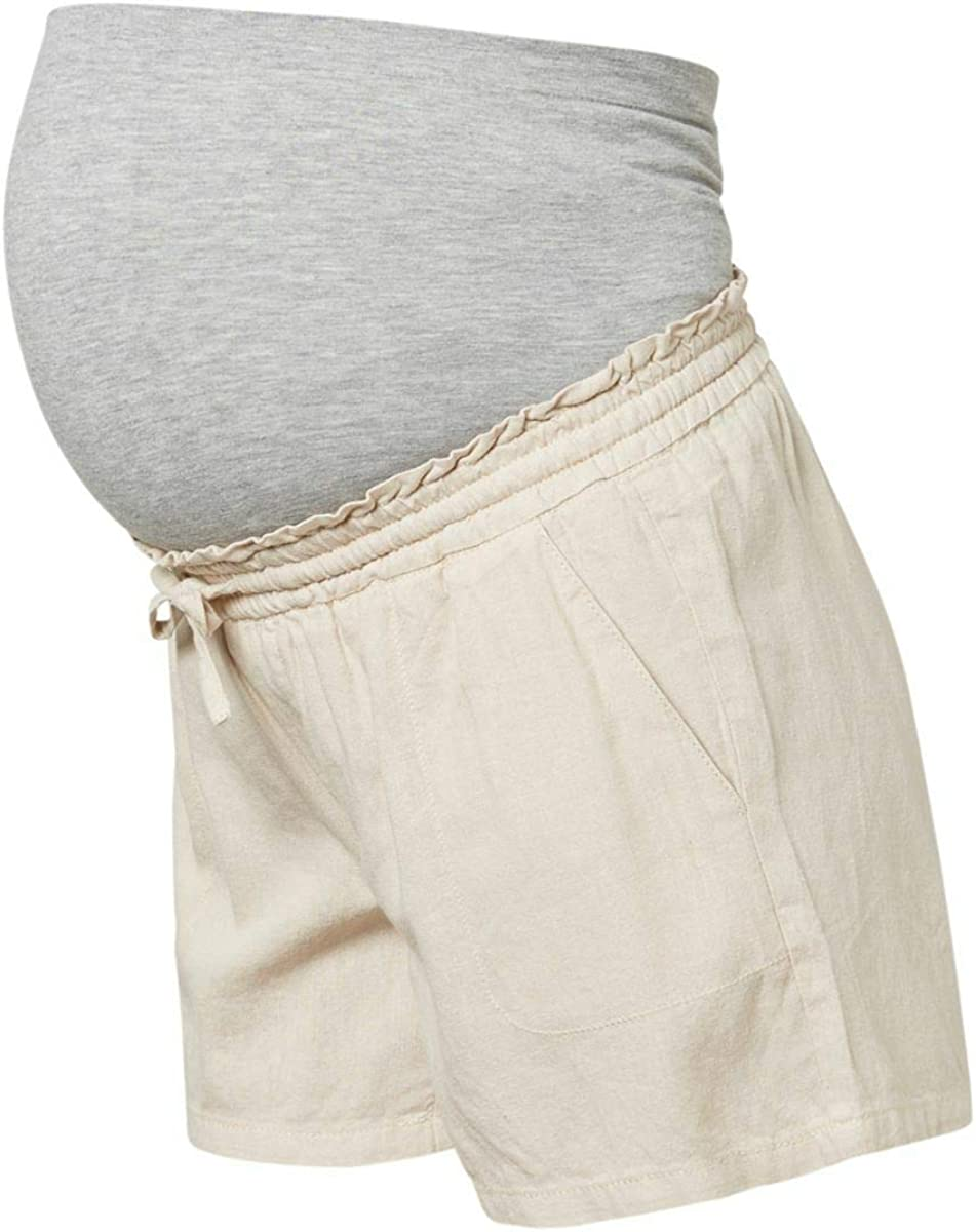Pantalones Cortos Mujer MAMALICIOUS Mlrebekka Woven Shorts A