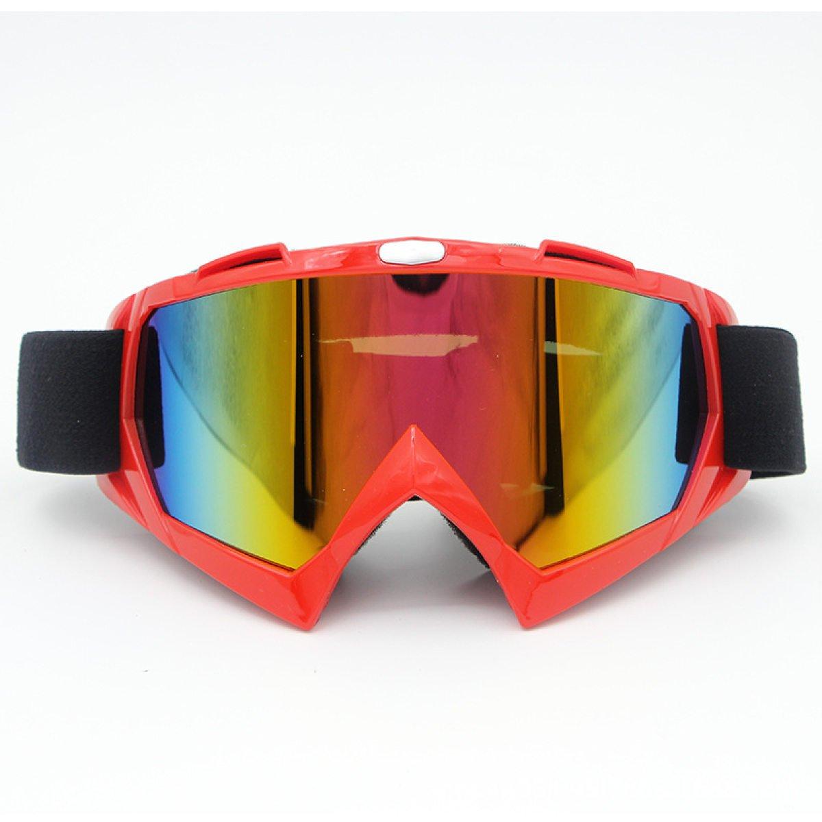 Occhiali Fuori Strada Specchio Da Sci Occhiali Da Vista Equitazione Arrampicata Occhiali,A-OneSize