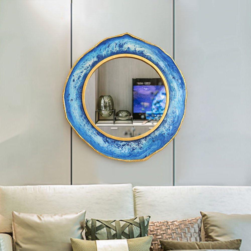 Kreative Wohnzimmer Spiegel  Hintergrund Wand Dekoration