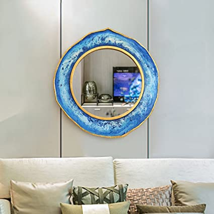 Amazon Com Wall Sculptures Zr Creative Living Room Mirror