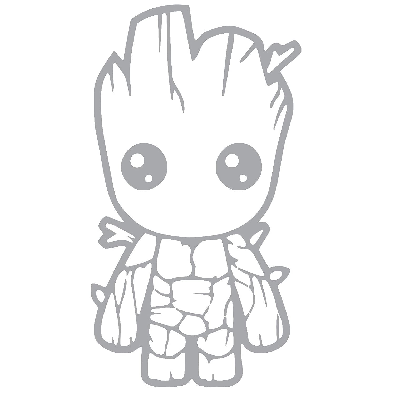 Amazon Com Baby Groot Guardians Of The Galaxy Vinyl Sticker Decal