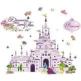 Generic Princess Castle Girl Wall Decal Sticker Home Decor Vinyl Art Kids Nursery Room
