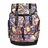 YOURNELO Boy's Girl's Doctor Who Explosive Pattern Canvas School Backpack Bookbag (Multicolor)