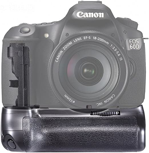 Grip Batería BG-E9 para Canon 60D DSLR Cámara Digital SLR!: Amazon ...