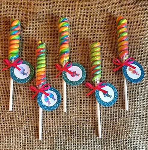 Amazon.com: Trolls fiesta arco iris Lollipop Twist Trolls ...
