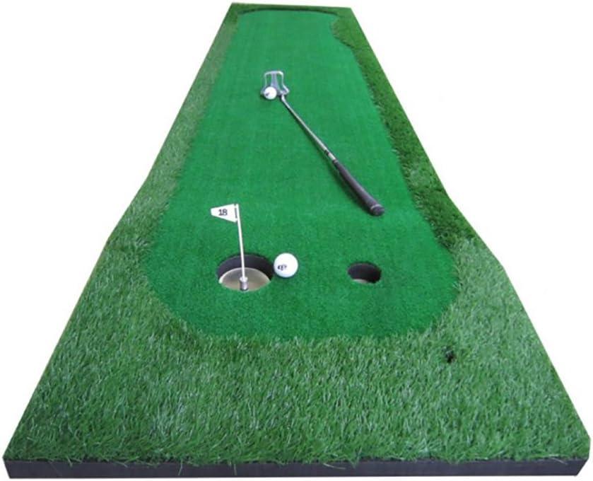 Mei Xu ゴルフプラクティスマット ゴルフ屋外屋内パットプラクティスマット2サイズオプション トレーニング機器 (サイズ さいず : 75×300cm)  75×300cm