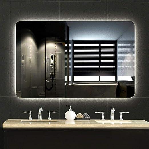 L Ed Spiegel Beleuchteter Badezimmerspiegel Beleuchtet Anti